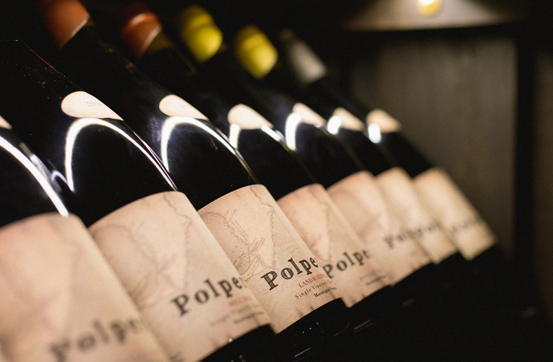 Polperrow wines selection